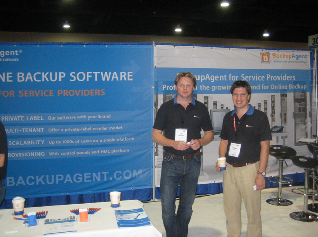 backup-agent-at-hostingcon-2009