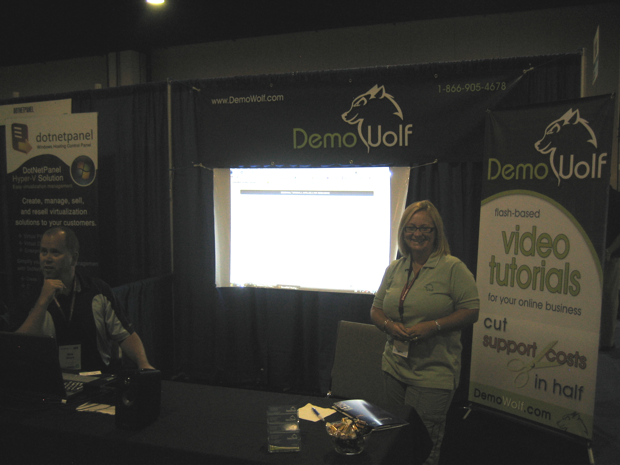demowolf-booth-hostingcon-2009