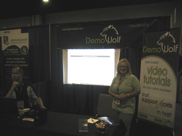 demowolf-booth-hostingcon-2009