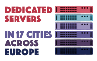 Europe Dedicated Servers by HCE